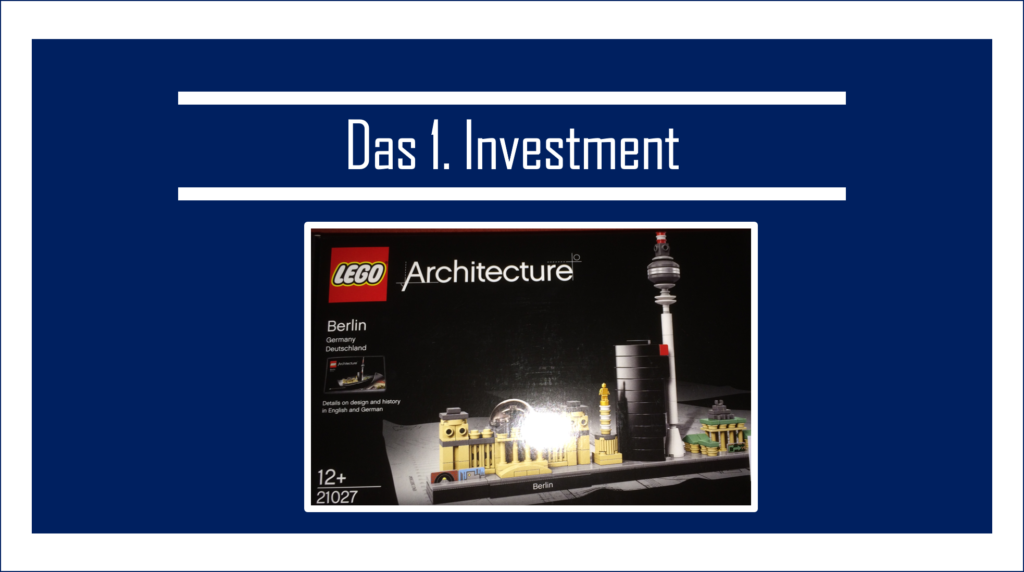 Erste Investment: Lego Architecture